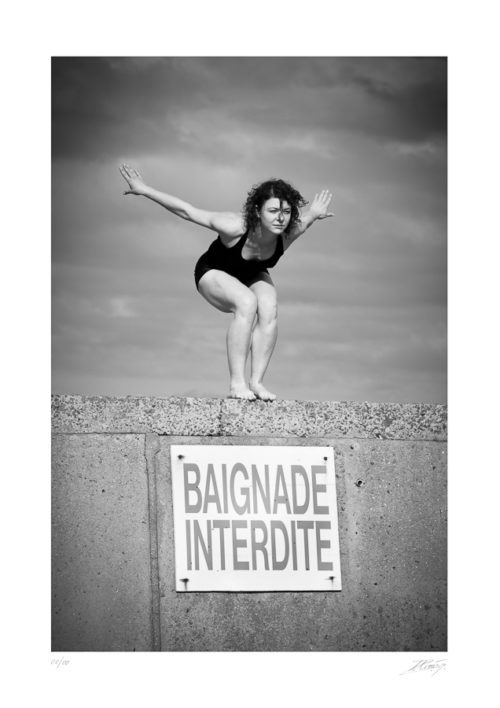 Baignade Interdite - Arromanche - Normandie