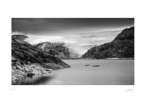 Glacier de Folgefonna - Norvége