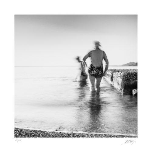Baignade matinal - Morning dip – Poros - Grèce