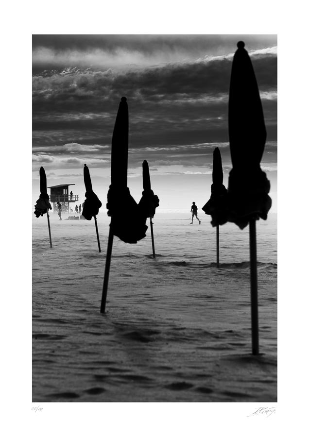 Tempête de sable à Deauville