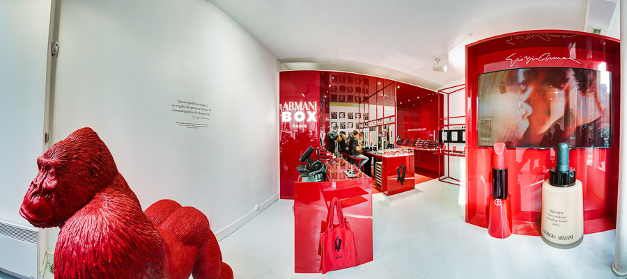 Armani Box Paris