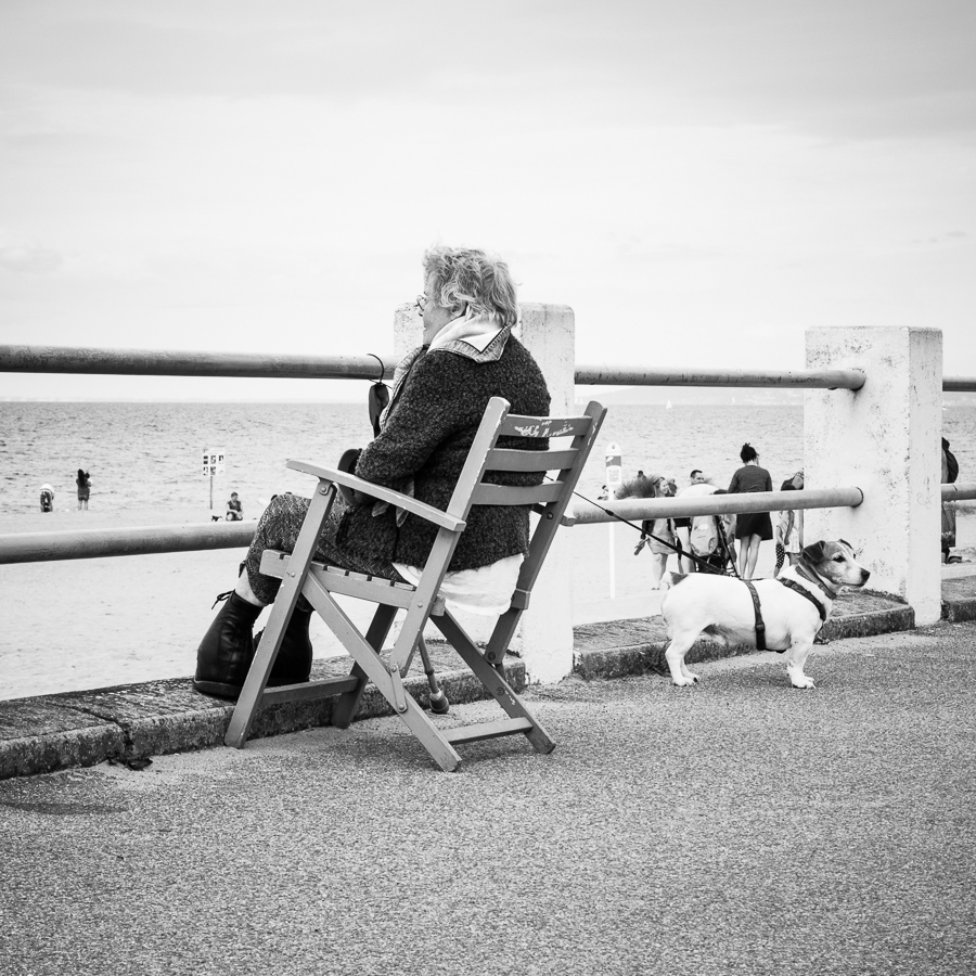 Cabourg street photography Normandy