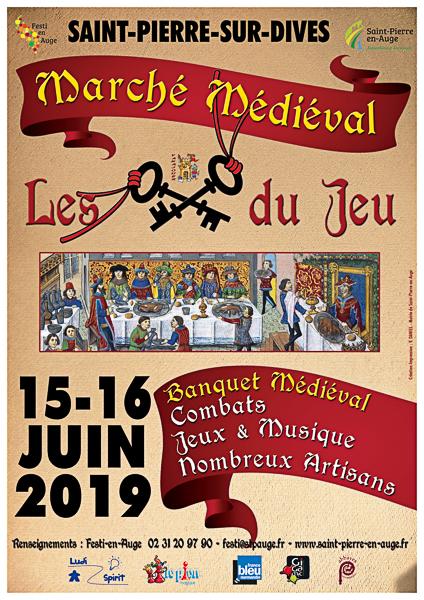 Marché Médiéval 2019 Saint-Pierre-sur-Dives