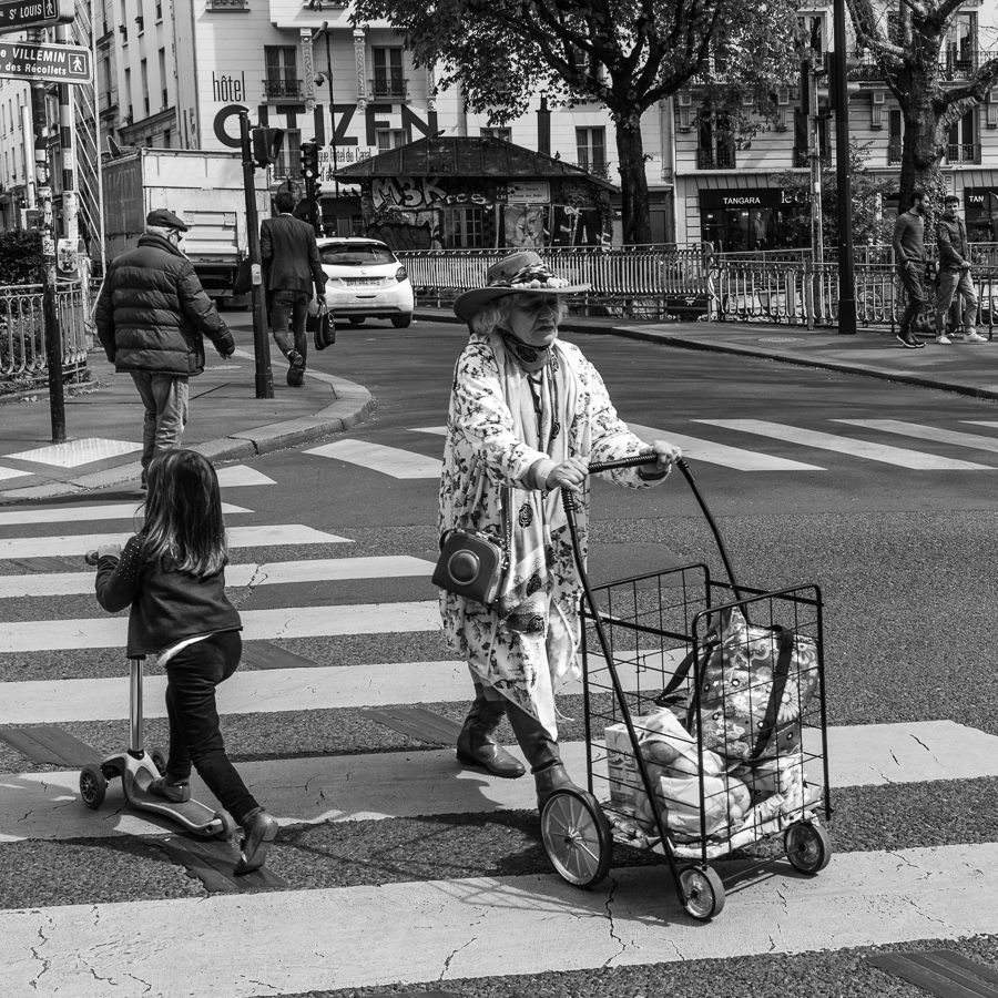 Street Photography Paris Canal Saint-Martin