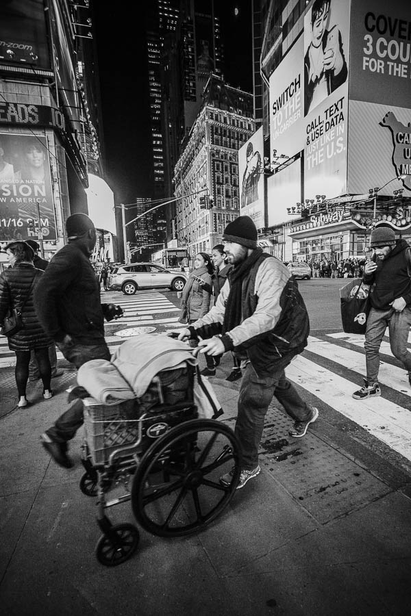 Street Photography New York Times square