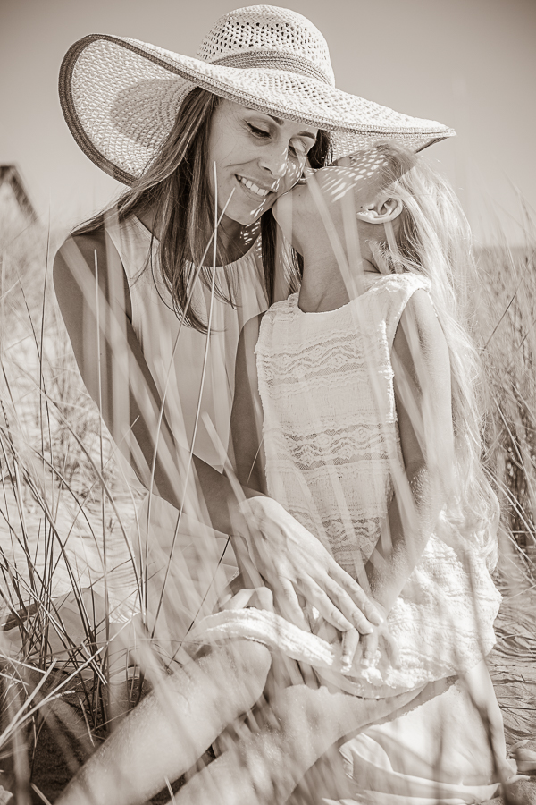 Séance photo mère fille
