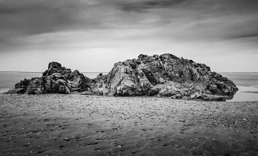 Le rocher échoué Bretagne
