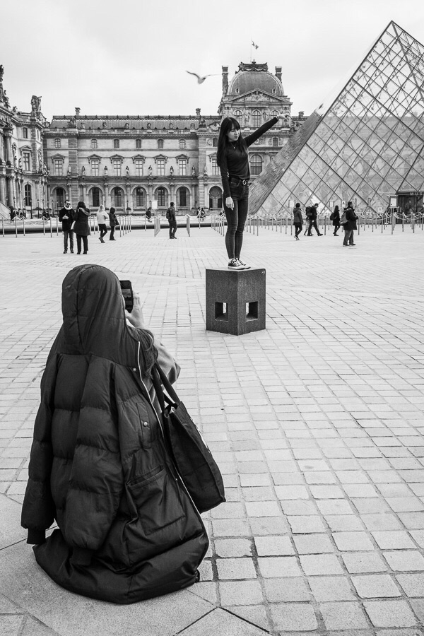 Paris - Pyramide du Louvre